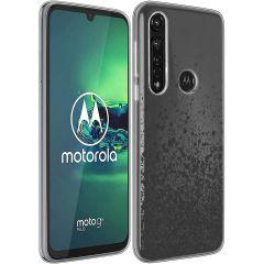 iMoshion Design hoesje Motorola Moto G8 Power - Spetters - Zwart