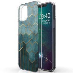 iMoshion Design hoesje iPhone 12 Mini - Patroon - Groen