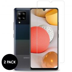 iMoshion Screenprotector Gehard Glas 2 pack Samsung Galaxy A42