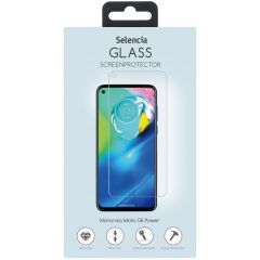 Selencia Gehard Glas Screenprotector Motorola Moto G8 Power