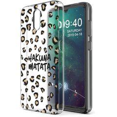 iMoshion Design hoesje Nokia 2.3 - Luipaard - Bruin / Zwart