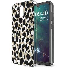 iMoshion Design hoesje Nokia 2.3 - Luipaard - Goud / Zwart