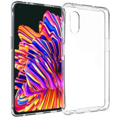 Accezz Clear Backcover Samsung Galaxy Xcover Pro - Transparant