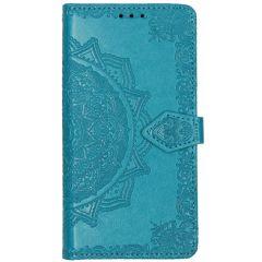 Mandala Booktype Motorola Moto E6 Play - Turquoise