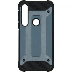 iMoshion Rugged Xtreme Backcover Motorola Moto G8 Plus - Donkerblauw