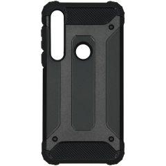iMoshion Rugged Xtreme Backcover Motorola Moto G8 Plus - Zwart