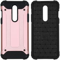iMoshion Rugged Xtreme Backcover OnePlus 8 - Rosé Goud