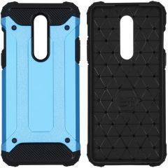 iMoshion Rugged Xtreme Backcover OnePlus 8 - Lichtblauw