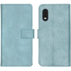 iMoshion Luxe Booktype Samsung Galaxy Xcover Pro - Lichtblauw
