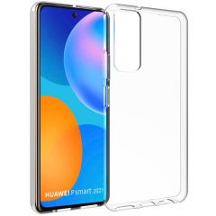 Accezz Clear Backcover Huawei P Smart (2021) - Transparant