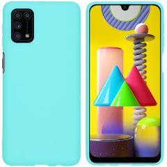 iMoshion Color Backcover Samsung Galaxy M31s - Mintgroen