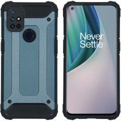 iMoshion Rugged Xtreme Backcover OnePlus Nord N10 5G - Donkerblauw
