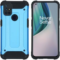 iMoshion Rugged Xtreme Backcover OnePlus Nord N10 5G - Lichtblauw