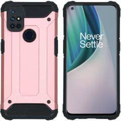 iMoshion Rugged Xtreme Backcover OnePlus Nord N10 5G - Rosé Goud
