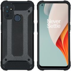 iMoshion Rugged Xtreme Backcover OnePlus Nord N100 - Zwart