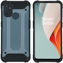 iMoshion Rugged Xtreme Backcover OnePlus Nord N100 - Donkerblauw