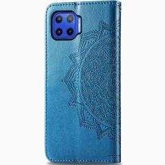 Mandala Booktype Motorola Moto G 5G Plus - Turquoise