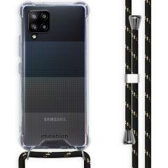 iMoshion Backcover met koord Samsung Galaxy A42 - Zwart Goud