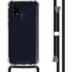 iMoshion Backcover met koord Samsung Galaxy M31 - Zwart