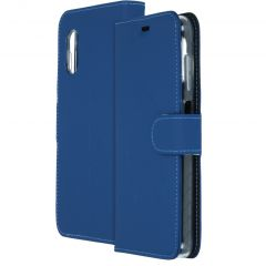 Accezz Wallet Softcase Booktype Samsung Galaxy Xcover Pro - Blauw