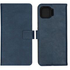 iMoshion Luxe Booktype Motorola Moto G 5G Plus - Donkerblauw