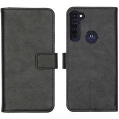 iMoshion Luxe Booktype Motorola Moto G Pro - Zwart