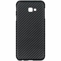 Carbon Hardcase Backcover Samsung Galaxy J4 Plus