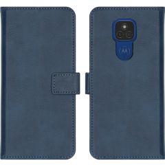 iMoshion Luxe Booktype Motorola Moto E7 Plus / G9 Play - Donkerblauw