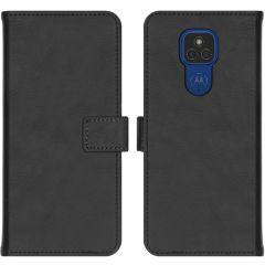 iMoshion Luxe Booktype Motorola Moto E7 Plus / G9 Play - Zwart