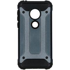Rugged Xtreme Backcover Motorola Moto G7 Play - Blauw
