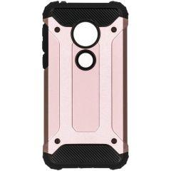 Rugged Xtreme Backcover Motorola Moto G7 Play - Rosé Goud