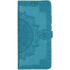 Mandala Booktype Motorola Moto G8 Power Lite - Turquoise