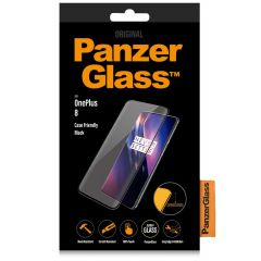 PanzerGlass Case Friendly Screenprotector OnePlus 8 - Zwart