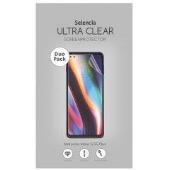 Selencia Duo Pack Ultra Clear Screenprotector Motorola Moto G 5G Plus