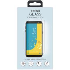 Selencia Gehard Glas Screenprotector Samsung Galaxy J4 Plus / J6 Plus