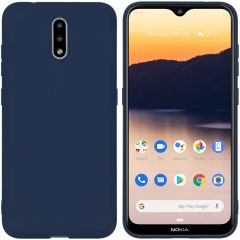 iMoshion Color Backcover Nokia 2.3 - Donkerblauw