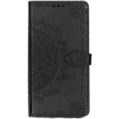 Mandala Booktype Motorola Moto G7 / G7 Plus - Zwart
