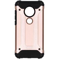 Rugged Xtreme Backcover Moto G7 / G7 Plus - Rosé Goud