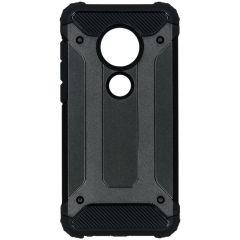 Rugged Xtreme Backcover Motorola Moto G7 / G7 Plus - Zwart