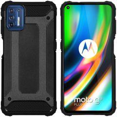 iMoshion Rugged Xtreme Backcover Motorola Moto G9 Plus - Zwart