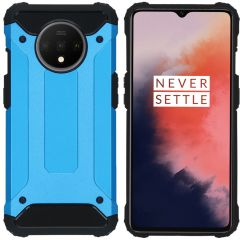 iMoshion Rugged Xtreme Backcover OnePlus 7T - Lichtblauw