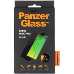 PanzerGlass Case Friendly Screenprotector Motorola Moto G7 Power - Zwart