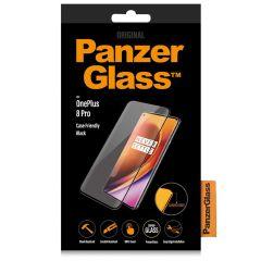 PanzerGlass Case Friendly Screenprotector OnePlus 8 Pro - Zwart