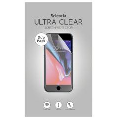 Selencia Duo Pack Ultra Clear Screenprotector Motorola Moto G6 Plus