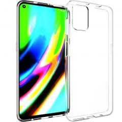 Accezz Clear Backcover Motorola Moto G9 Plus - Transparant