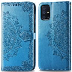 iMoshion Mandala Booktype Samsung Galaxy M51 - Turquoise