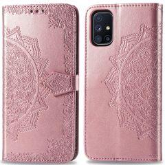 iMoshion Mandala Booktype Samsung Galaxy M51 - Rosé Goud