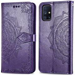 iMoshion Mandala Booktype Samsung Galaxy M51 - Paars