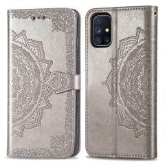 iMoshion Mandala Booktype Samsung Galaxy M51 - Grijs