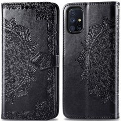 iMoshion Mandala Booktype Samsung Galaxy M51 - Zwart